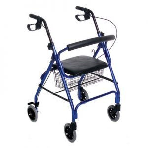 Four Wheeled Rolling Walker