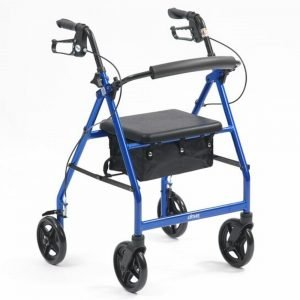 Drive Lightweight Rollator blue